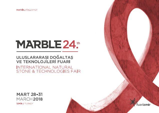 Marble24. Uluslararası Doğaltaş ve Teknolojileri Fuarı 2018
