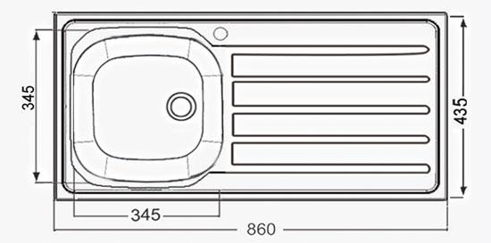 AE 8650 - 435x860