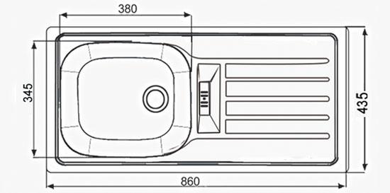 AE 8650 T - 435x860